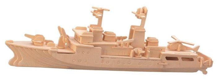 Купить Сборная модель Чудо-Дерево Корабль Сторожевик (P046) по низкой цене с доставкой из Яндекс.Маркета