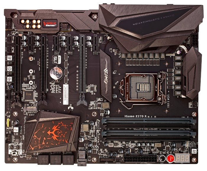 Материнская плата Colorful iGame Z270 Ymir-X