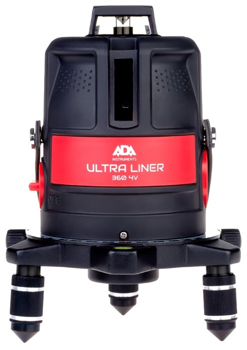 Лазерный уровень ADA instruments ULTRALiner 360 4V Set (A00477)