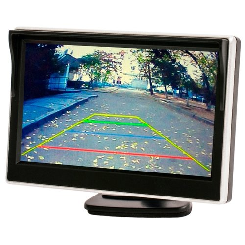 Автомобильный монитор AVEL AVS0500BM черный
