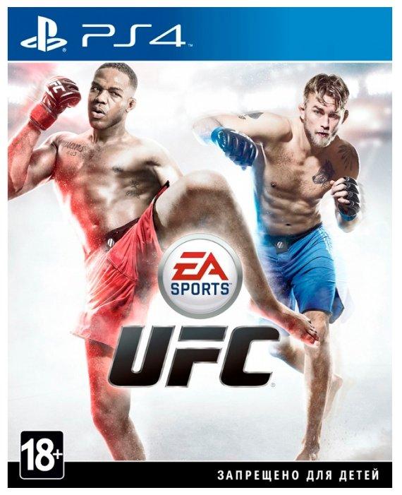 Игра для PlayStation 4 UFC, английский язык фото 1