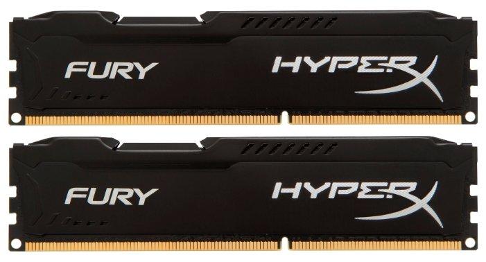 Оперативная память 8 ГБ 2 шт. HyperX HX318C10FBK2/16 — купить по выгодной цене на Яндекс.Маркете