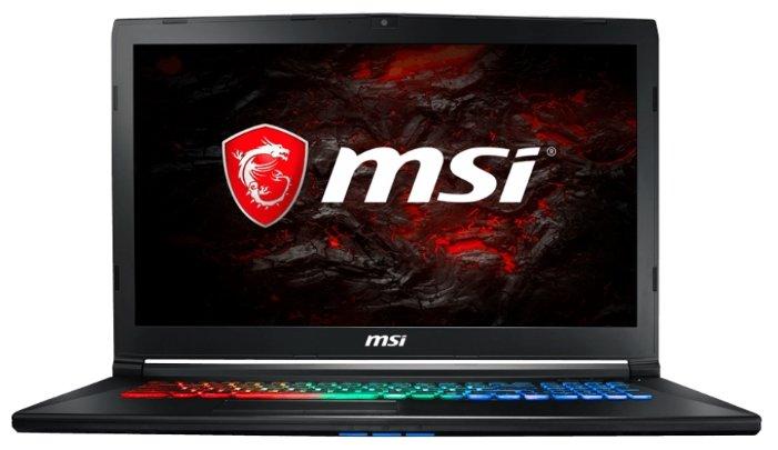 MSI GP72MVR 7RFX LEOPARD PRO (Intel Core i7 7700HQ 2800 MHz/17.3