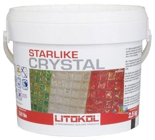 Затирка Litokol Starlike C.350 Crystal 2.5 кг