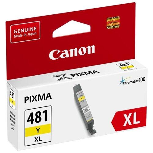 Фото - Картридж Canon CLI-481Y XL (2046C001) canon cli 451c xl голубой