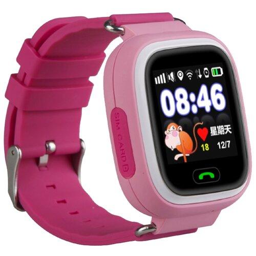 Детские умные часы c GPS Smart Baby Watch Q80 розовый детские умные часы smart baby watch q80 желтый