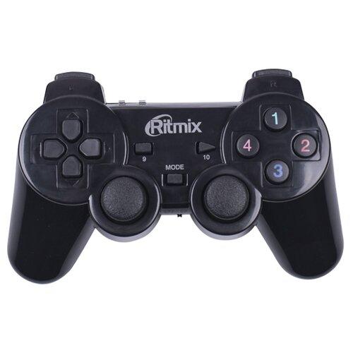 Геймпад Ritmix GP-020WPS черный геймпад проводной ritmix gp 035bth черный [80000202]
