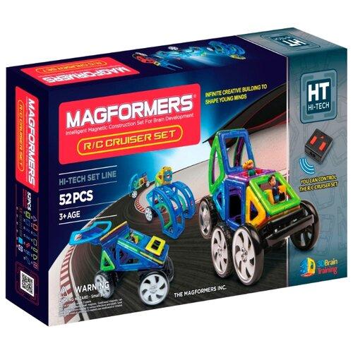 Купить Магнитный конструктор Magformers Vehicle 707003 Радиоуправляемый набор, Конструкторы
