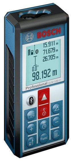 Лазерный дальномер BOSCH GLM 100 C Professional — купить по выгодной цене на Яндекс.Маркете