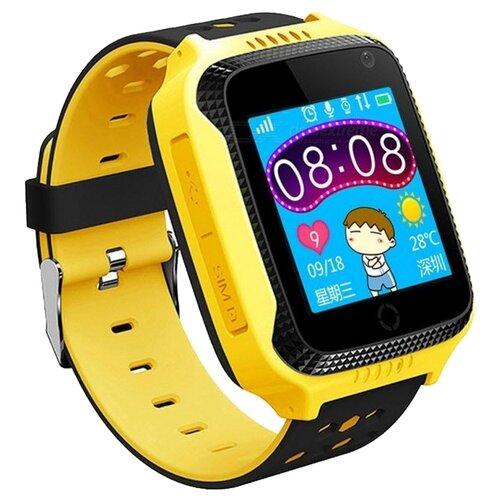 Детские умные часы c GPS Smart Baby Watch Q65 / T7 желтый детские умные часы smart baby watch q80 желтый