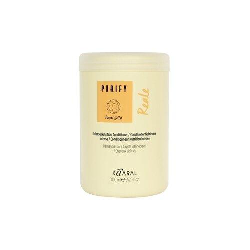 Фото - Kaaral кондиционер Purify Reale, 1000 мл kaaral шампунь purify reale intense nutrition 1000 мл