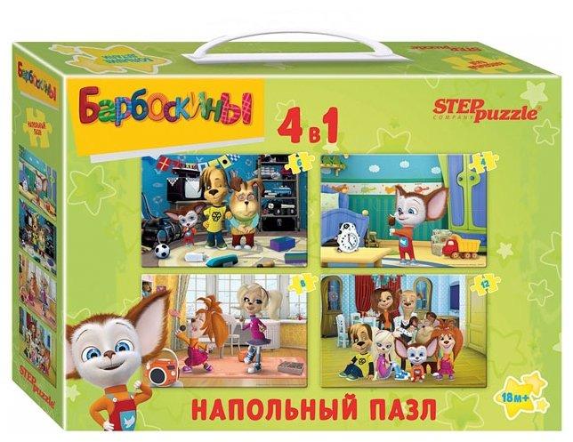 Набор пазлов Step puzzle Мельница Барбоскины (70154)