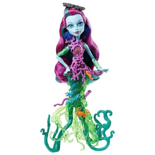 Кукла Monster High Большой кошмарный риф Поси Риф, 28 см, DHB48 пазл monster high monster high 300 элементов