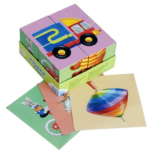 Купить Кубики-пазлы Step puzzle Baby step Игрушки 87325, Детские кубики