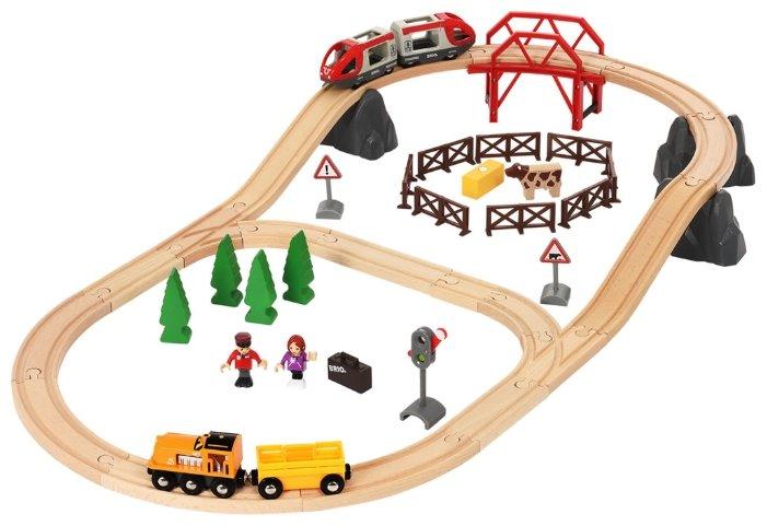 """Brio Стартовый набор """"Железная дорога в сельской местности"""", 33916"""