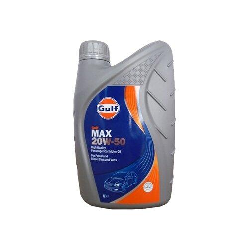 Моторное масло Gulf Max 20W-50 1 л моторное масло gulf multi g 20w 50 1 л