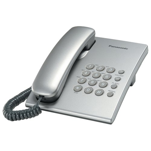 Телефон Panasonic KX-TS2350 серебристый