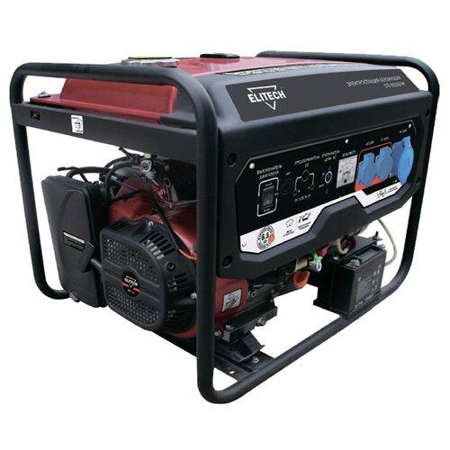цена на Бензиновый генератор ELITECH СГБ 8000ЕАМ (6000 Вт)