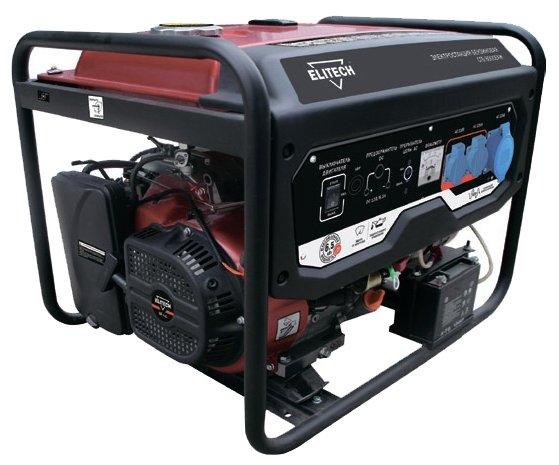 Бензиновый генератор ELITECH СГБ 8000ЕАМ (6000 Вт)