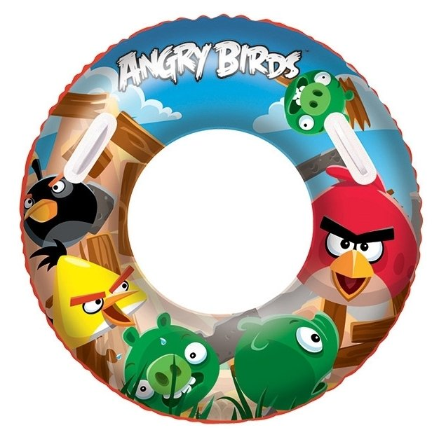 Круг для плавания Bestway Angry Birds 96103 BW