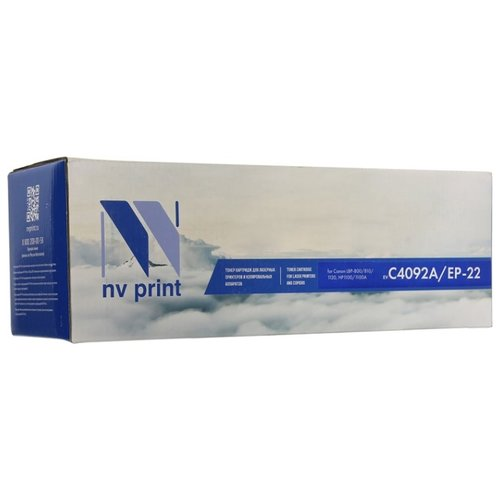 Фото - Картридж NV Print C4092A для HP, совместимый картридж nv print cf542x для hp