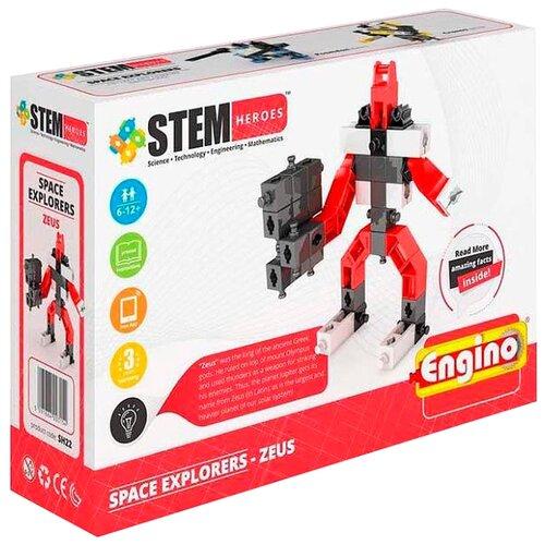 Конструктор ENGINO STEM Heroes SH22 Покорители Космоса - Зевс конструктор engino sh21 покорители космоса посейдон
