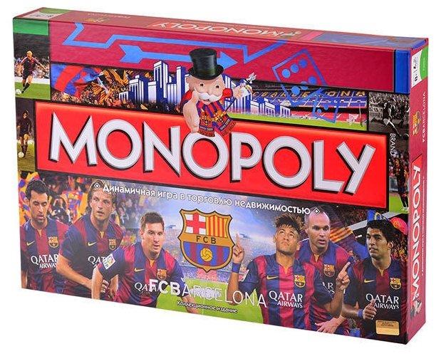 Настольная игра Hasbro games Monopoly ФК Барселона