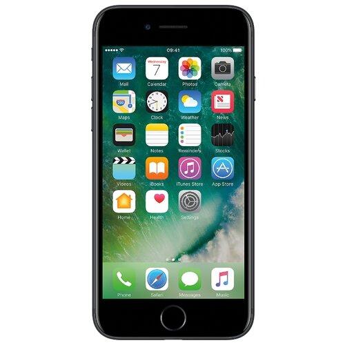 Смартфон Apple iPhone 7 32GB черный смартфон apple iphone 7 32gb gold mn902ru a