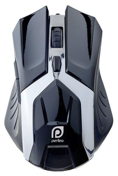 Perfeo PF-1718-GM GALAXY Black USB - Мышь