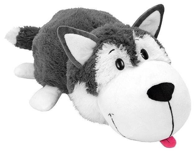 Мягкая игрушка 1 TOY Вывернушка Хаски-Полярный медведь 10 см