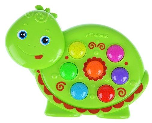 Интерактивная развивающая игрушка Азбукварик Веселушки Черепашка