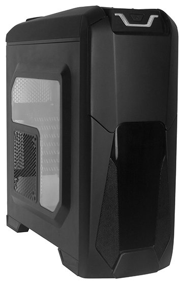 Компьютерный корпус ExeGate EVO-8201 700W Black
