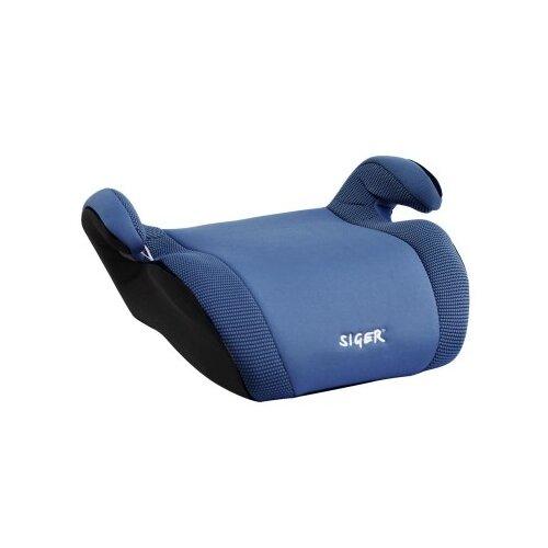 Бустер группа 3 (22-36 кг) Siger Мякиш Плюс, синий бустер группа 3 22 36 кг siger мякиш плюс синий