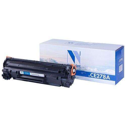 Фото - Картридж NV Print CE278A для HP, совместимый картридж nv print ce278a 728 для hp p1566 p1606 canon mf4410 4430 4450 4550 4570 4580 черный 2100стр