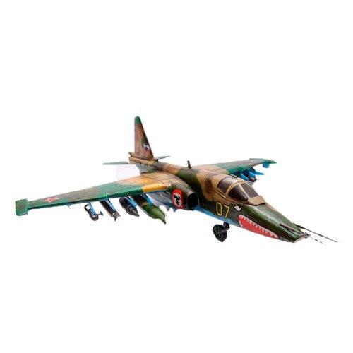 Купить Сборная модель ZVEZDA Советский штурмовик Су-25 (7227PN) 1:72, Сборные модели
