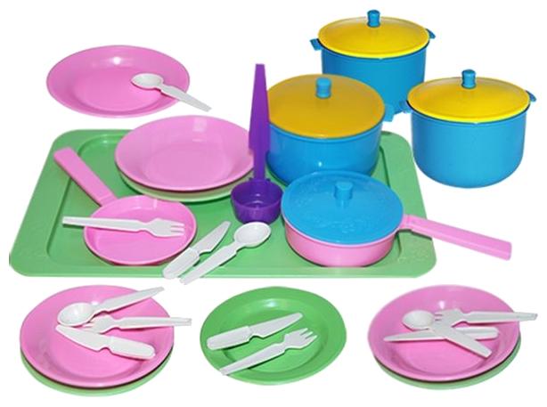 Набор посуды Пластмастер Вкусный ужин 21058 фото 1