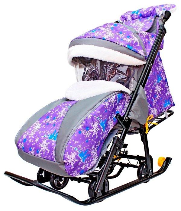 Санки-коляска Galaxy Snow Galaxy Luxe