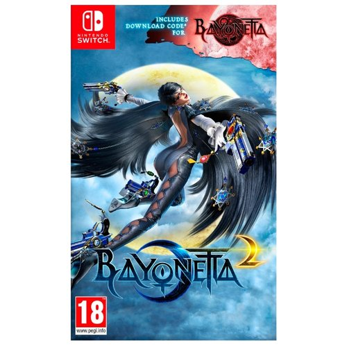 Игра для Nintendo Switch Bayonetta 2 + Bayonetta аксессуар для игровой приставки nintendo switch контроллер splatoon 2