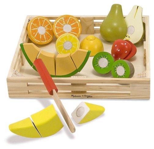 Набор продуктов с посудой Melissa & Doug Cutting Fruit Set 4021