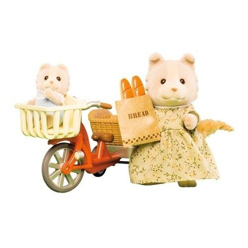 Купить Игровой набор Sylvanian Families Велосипедная прогулка 2236, Игровые наборы и фигурки
