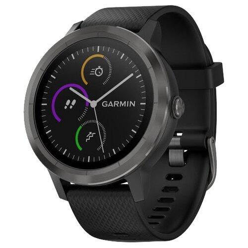 цена на Часы Garmin Vivoactive 3 черный