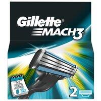 Сменные лезвия Gillette Mach 3, 2 шт.