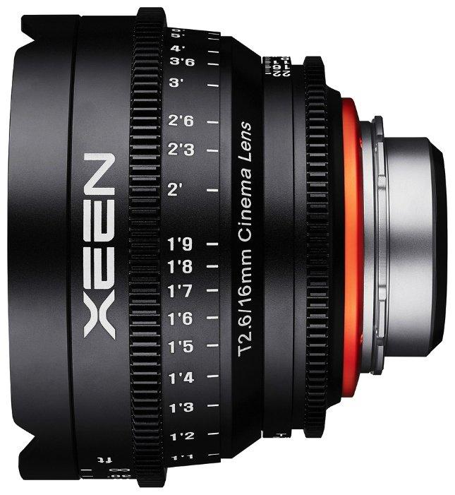 Объектив Xeen 16mm T2.6 Nikon F