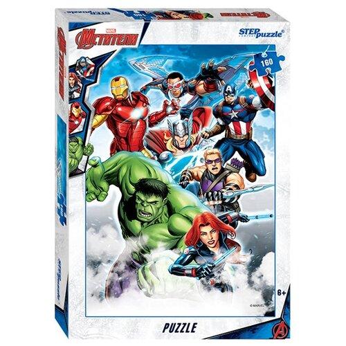 Купить Пазл Step puzzle Marvel Мстители - 3 (94080), 160 дет., Пазлы