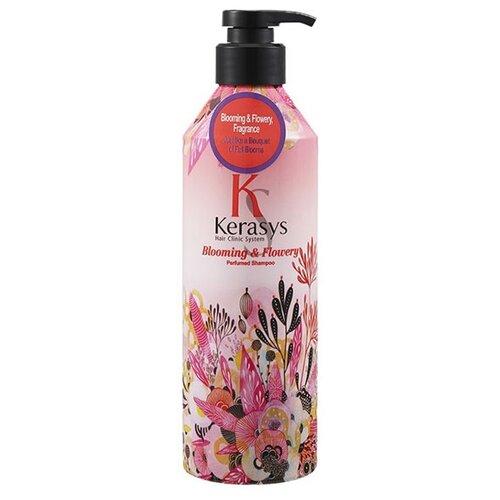 KeraSys шампунь Perfumed Blooming&Flowery 600 мл с дозаторомШампуни<br>