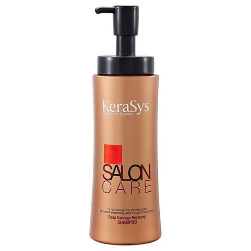 KeraSys шампунь Salon Care Deep Damage Recovery 470 мл с дозатором шампунь kerasys kerasys ke013lwujr15