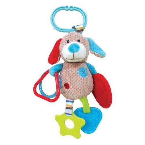 Фото - Подвесная игрушка Жирафики Собачка Билли (939332) бежевый погремушки и прорезыватели наша игрушка собачка билли