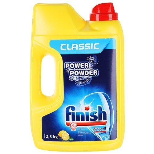 Finish Classic порошок (лимон) для посудомоечной машины 2.5 кгДля посудомоечных машин<br>