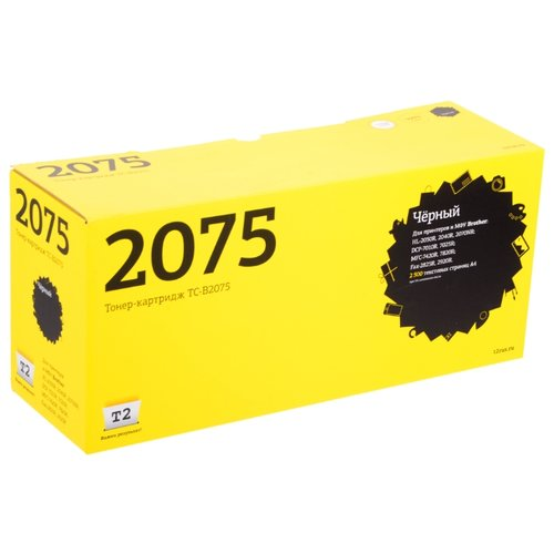 Фото - Картридж T2 TC-B2075, совместимый картридж t2 tc k170 совместимый