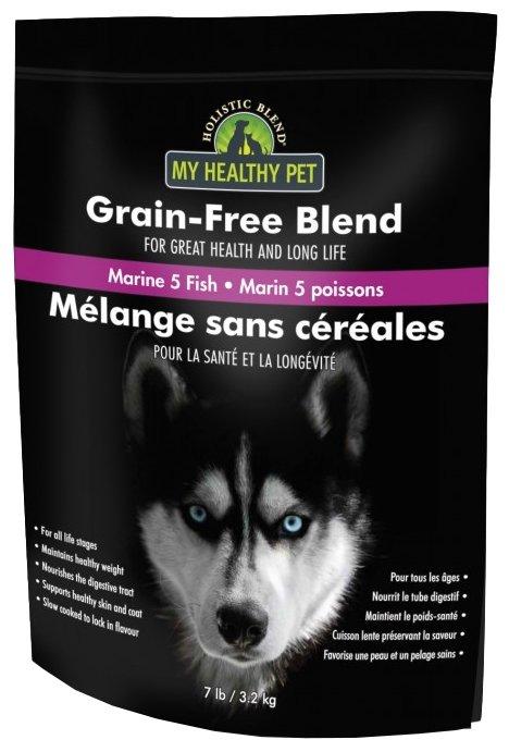Корм для собак Holistic Blend Для собак - Беззерновая формула 5 рыб и морепродукты